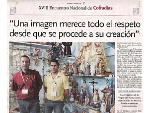 XVIII ENCUENTRO NACIONAL DE COFRADIAS.