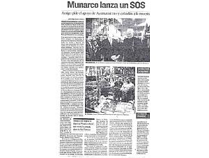 MUNARCO LANZA UN SOS