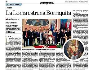ALBOX-LA LOMA ESTRENA BORRIQUITA
