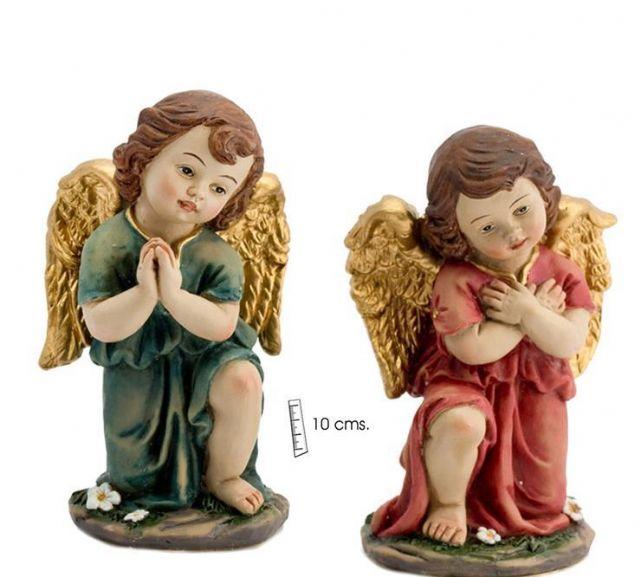 ANGELES ADORADORES (PAREJA) 10CM MOD.JAV