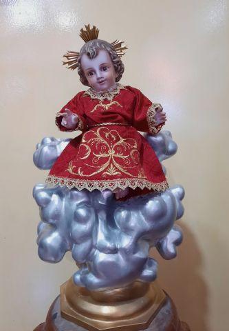 NIÑO JESUS EN NUBE