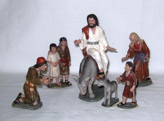 GRUPO JESUS ENTRADA EN JERUSALEM-JOSE LUIS MAYO