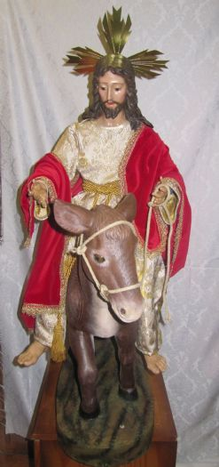 BORRIQUITA JESUS ENTRADA EN JERUSALEM 80CM
