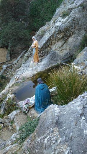 BELEN MONUMENTAL 160CM EN UNA MONTAÑA
