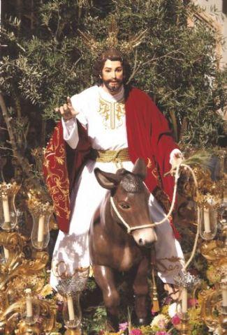 BORRIQUITA JESUS ENTRADA EN JERUSALEN 180CM REF.211
